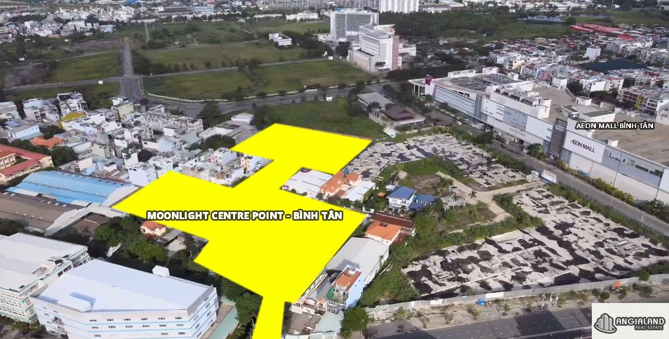 Tiến độ dự án Moonlight Centre Point Hưng Thịnh Quận Bình Tân tháng 08/2021