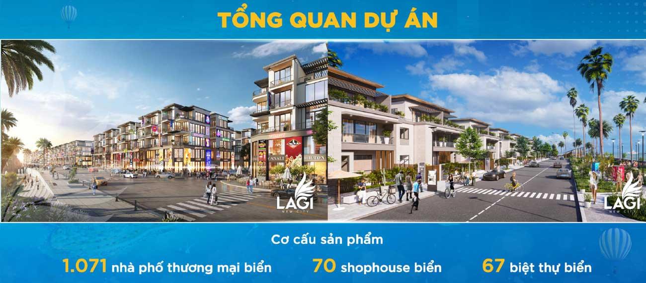 Quy mô dự án đất nền Lagi New City Bình Thuận