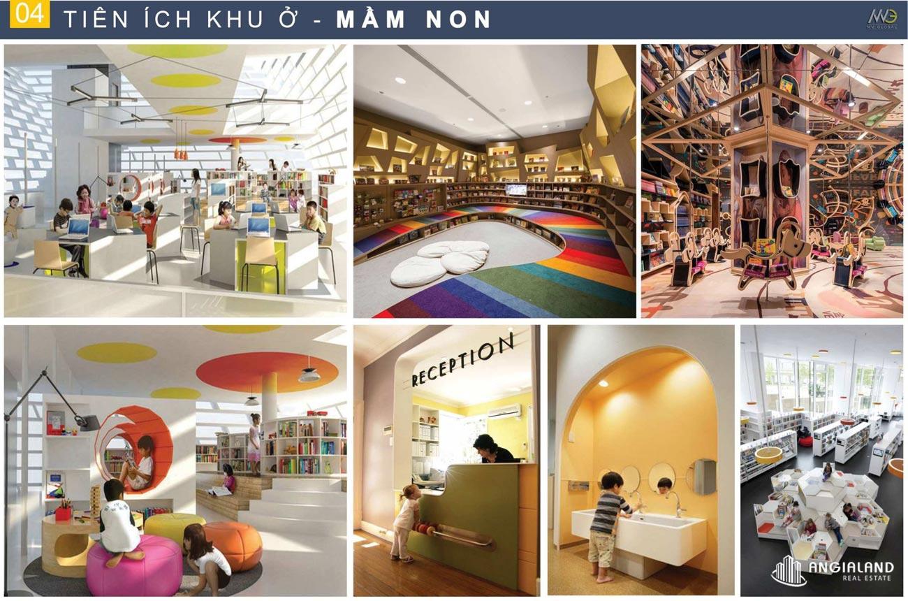 Trường mầm non, khu vui chơi trẻ em Moonlight Centre Point Hưng Thịnh Quận Bình Tân